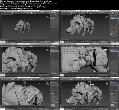 Modeling and Texturing Animals for Games