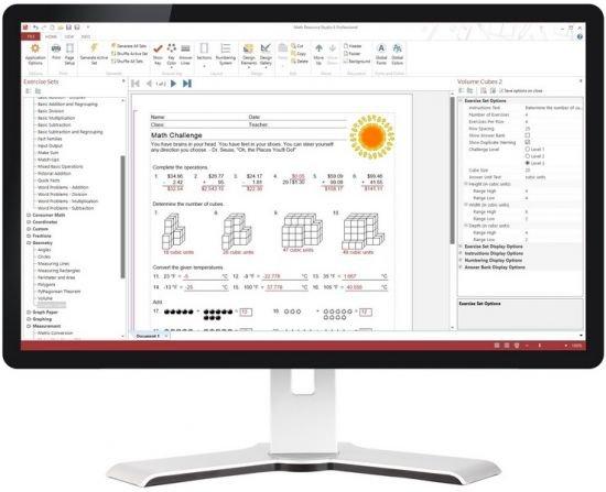 Math Resource Studio Professional 6.1.8.8