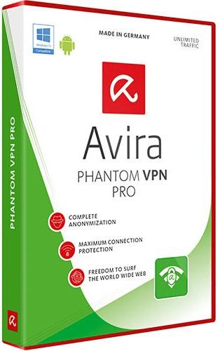 Avira Phantom VPN Pro 16.3.2152