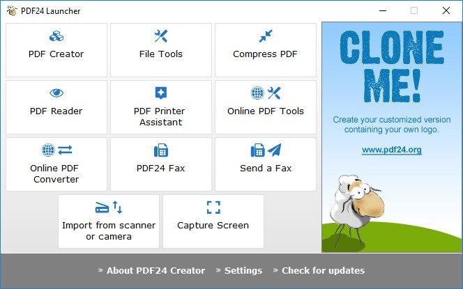 PDF24 Creator 8.7.0 Multilingual