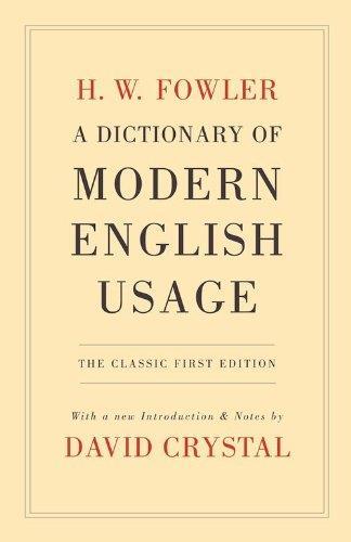 Modern English Usage Pdf