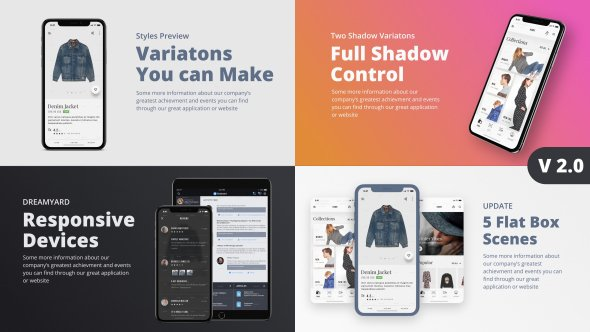 TheX - App Presentation Kit - Project for After Effects (Videohive)