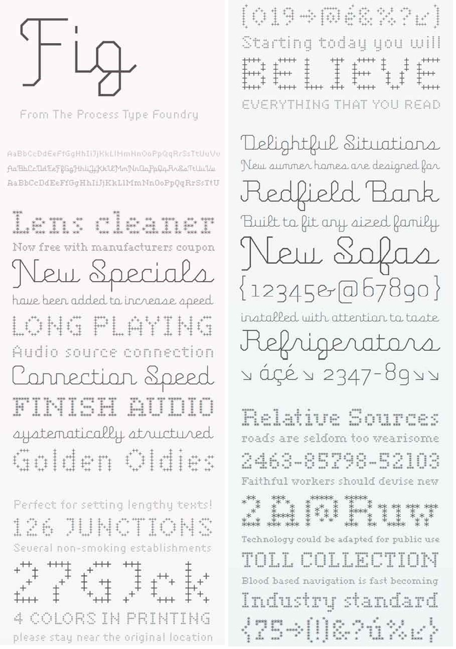 Download FIG Font Family - SoftArchive