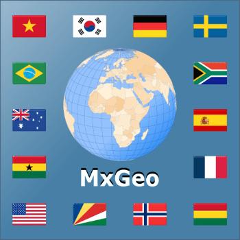 World atlas & world map MxGeo Pro-v5.6.0 build 56003