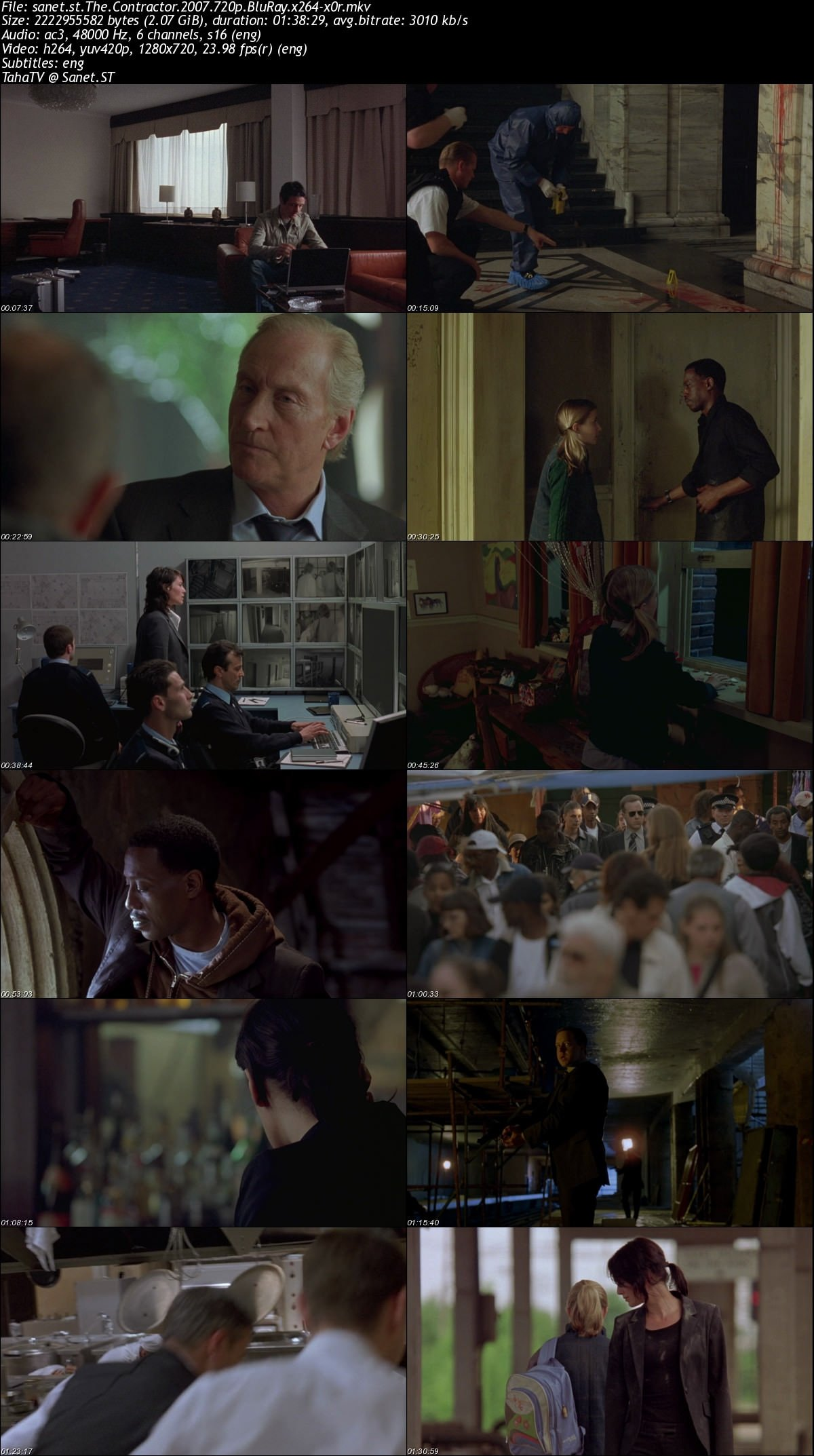 Download The Contractor 2007 720p Bluray X264 X0r Softarchive