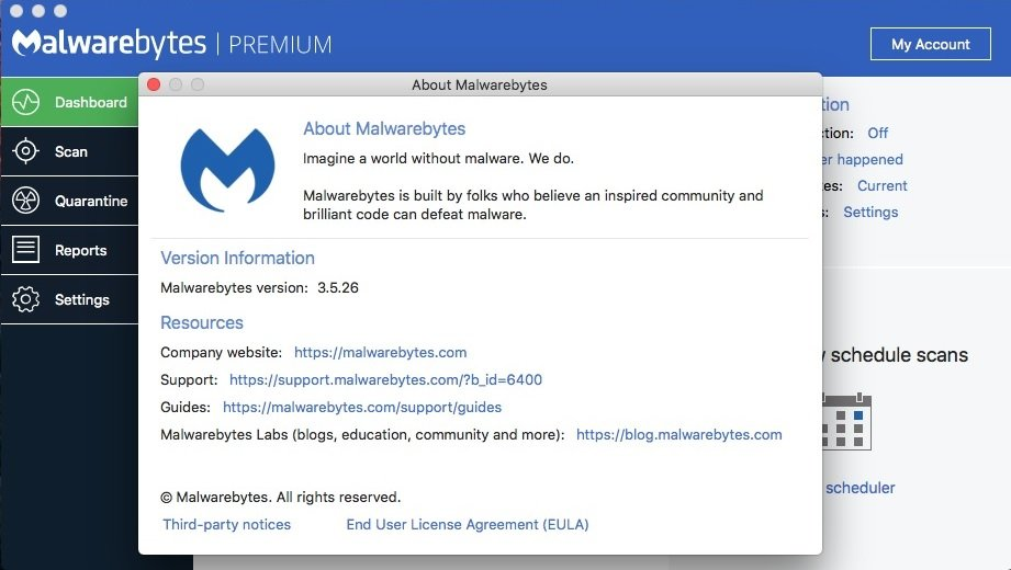 Download Malwarebytes Premium for Mac 3 5 26 1796 - SoftArchive