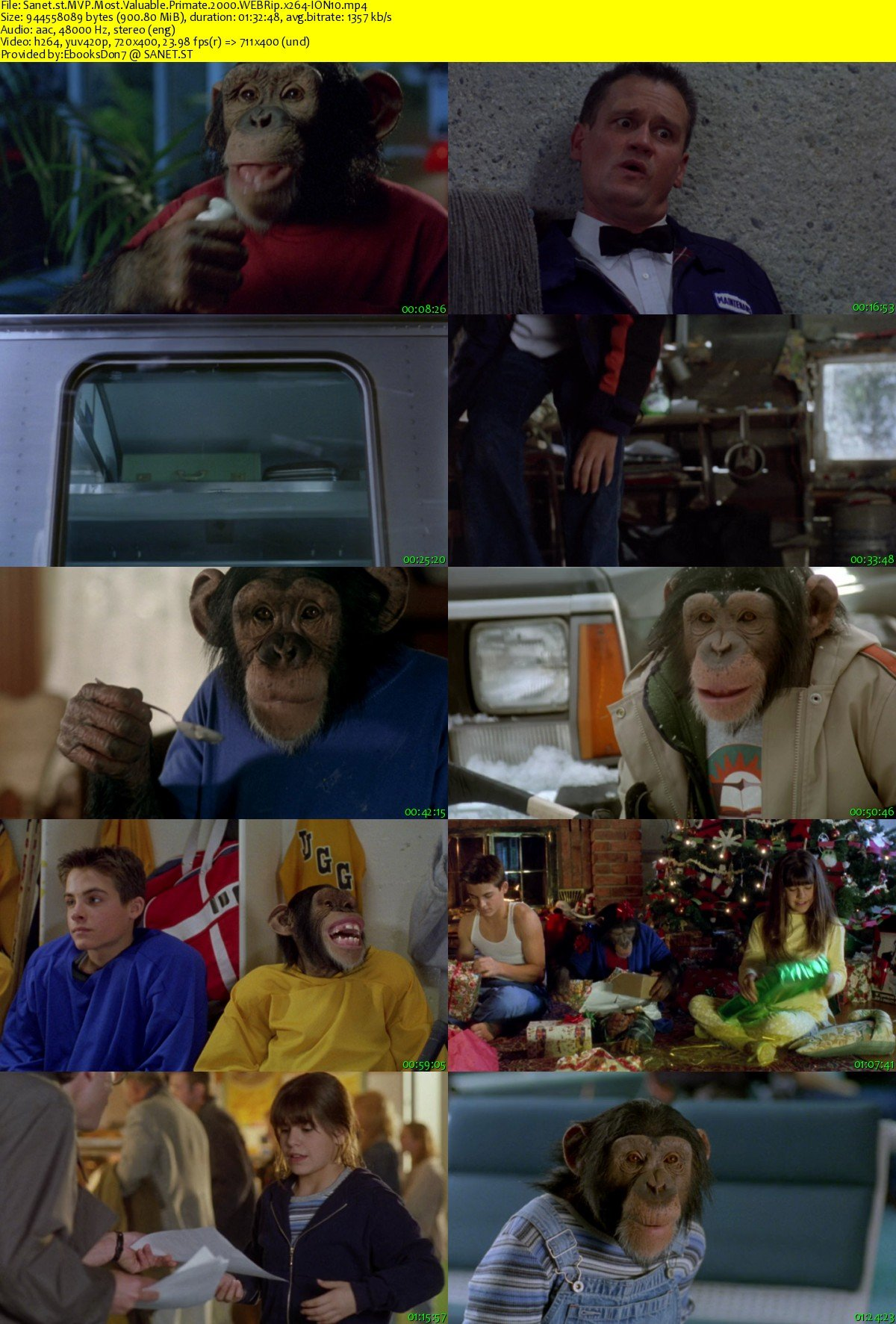 Download MVP Most Valuable Primate 2000 WEBRip x264-ION10