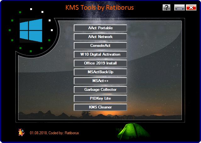 Ratiborus KMS Tools 01.11.2018