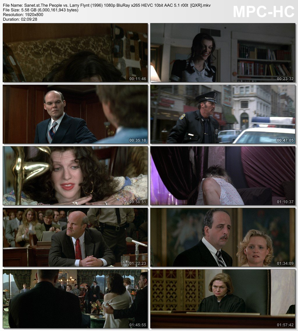 Download The People vs  Larry Flynt 1996 1080p BluRay x265