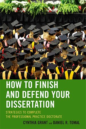 How to complete a dissertation