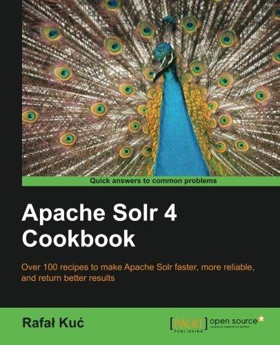 Apache solr 4 cookbook ebook by rafał kuć 9781782161332.