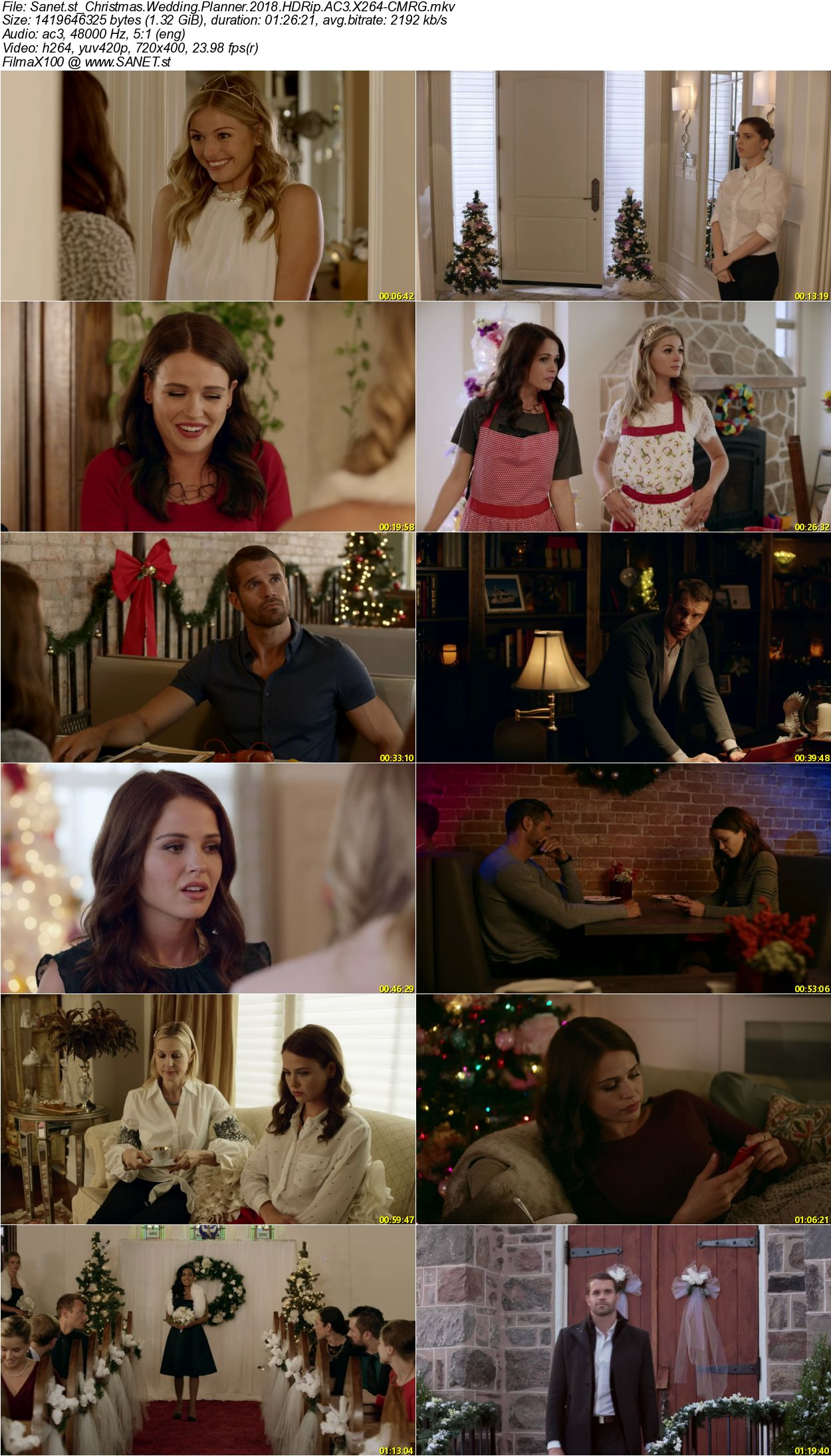 Download Christmas Wedding Planner 2018 Hdrip Ac3 X264 Cmrg