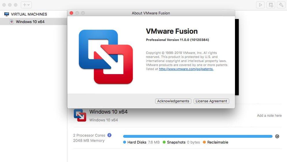 Download VMware Fusion Pro 11 0 3 Build 12992109 macOS - SoftArchive