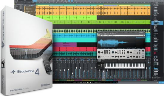 PreSonus Studio One 4 Professional 4.1.1