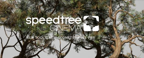 SpeedTree Modeler 8.1.5 Cinema Edition