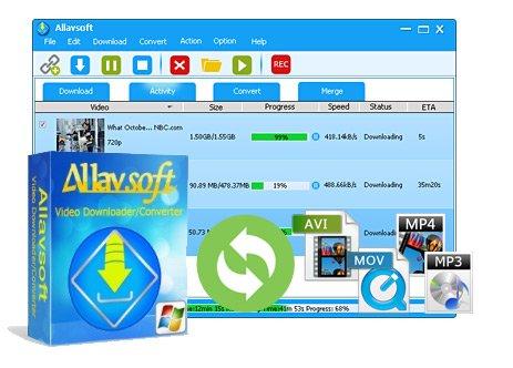 Allavsoft Video Downloader Converter 3.16.5.6884 Multilingual