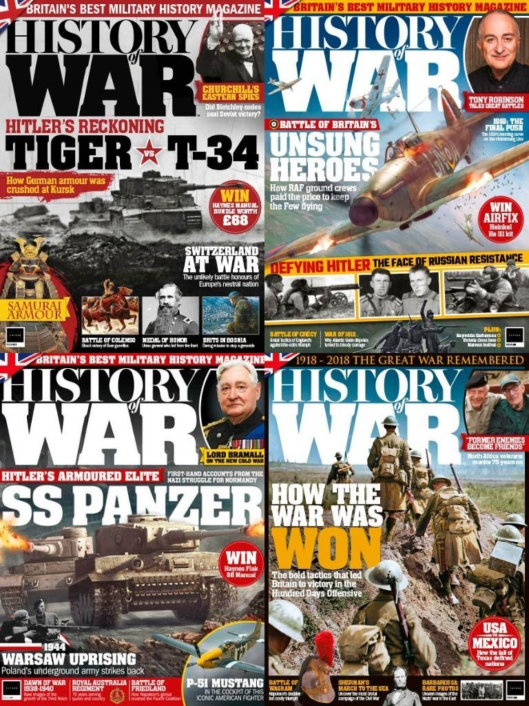 Download History of War - Full Year Issues Collection 2018