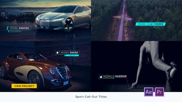 Download Sport Call-Out Titles - After Effects & Premiere