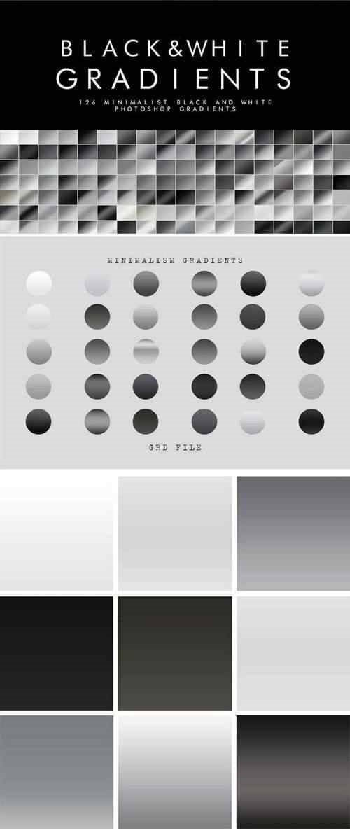 Download 126 Black and White Gradients 21925521 - SoftArchive