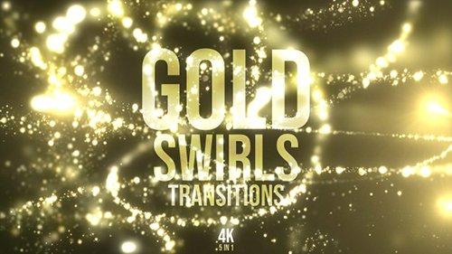 Gold Swirls Transitions - 23006822