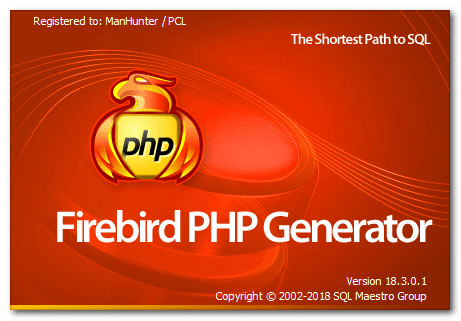 Firebird PHP Generator Professional 18.3.0.3 Multilingual
