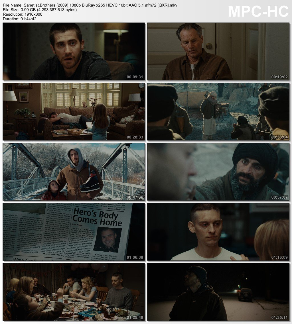 Download Brothers 2009 1080p BluRay x265 HEVC 10bit AAC 5 1 afm72