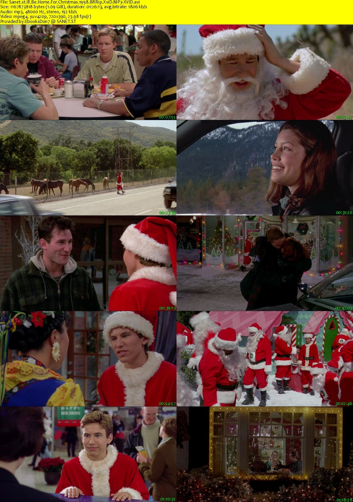 Ill Be Home For Christmas 1998.Download I Ll Be Home For Christmas 1998 Brrip Xvid Mp3 Xvid