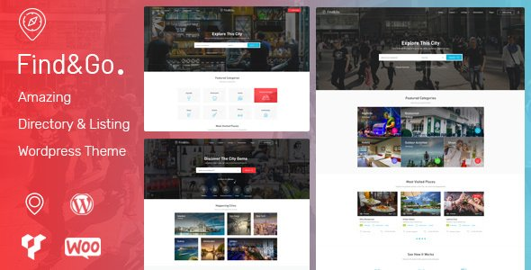 ThemeForest - Findgo v1.2.34 - Directory & Listing WordPress Theme