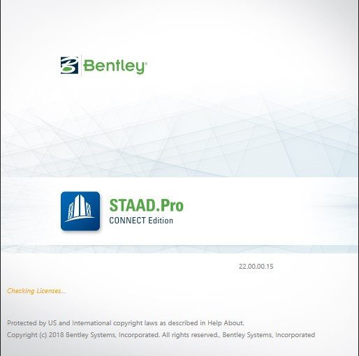 Download Bentley STAAD.Pro CONNECT Edition 22.00.00.015