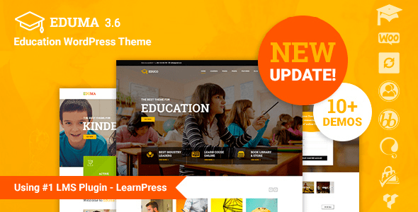 ThemeForest - Education WP v3.6.1.1 - Education WordPress Theme