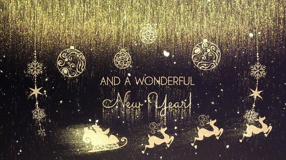 Download Golden Christmas Wishes 148268 - After Effects Templates