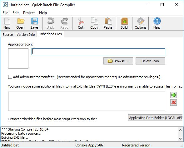 Download AbyssMedia Quick Batch File Compiler 4 2 0 5