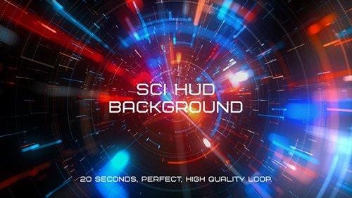 Sci Hud Background - 22792793