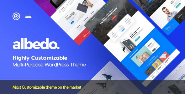ThemeForest - Albedo v1.0.32 - Highly Customizable Multi-Purpose WordPress Theme