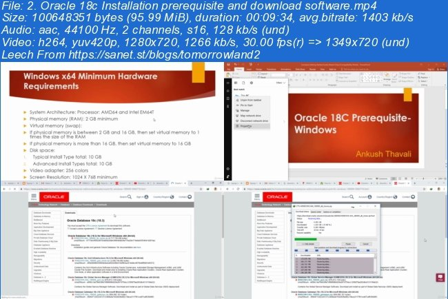 Download Oracle 18C Database Installation on Windows
