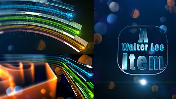 Videohive Colorful Glass Opener 14179068