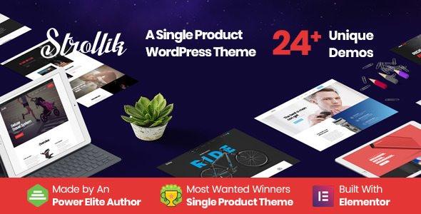 ThemeForest - Strollik v4.0.2 - Single Product WooCommerce WordPress Theme