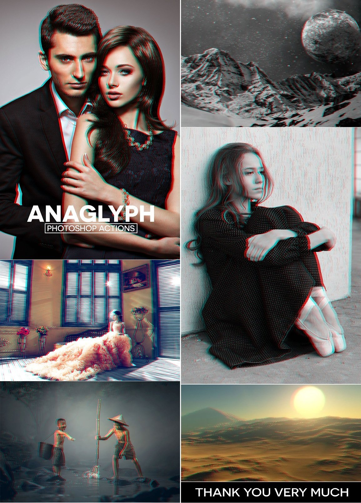 Download Anaglyph 3D Photoshop Actions 1260795 - SoftArchive