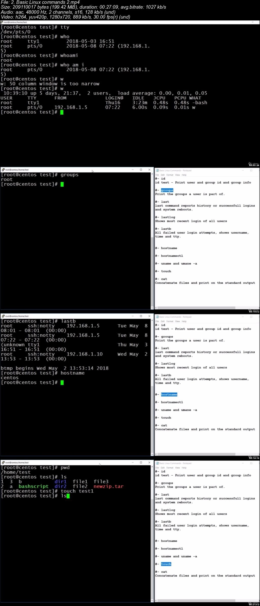 download learn linux administration and linux command line