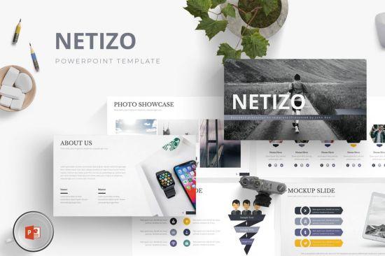 Netizo Powerpoint Template