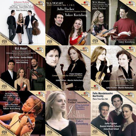 Julia Fischer - Collection (2004 - 2010) FLAC [24/96]