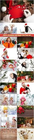 Merry Christmas and Happy New Year stock set # 6