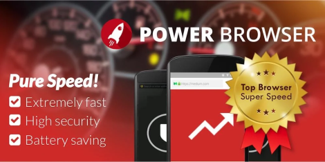 Power Browser - Fast Internet Explorer v64.0.2016123117