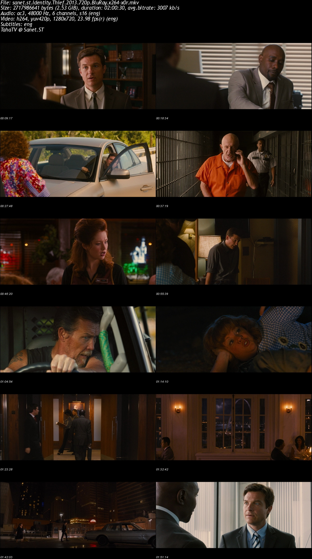 Download Identity Thief 2013 720p Bluray X264 X0r Softarchive