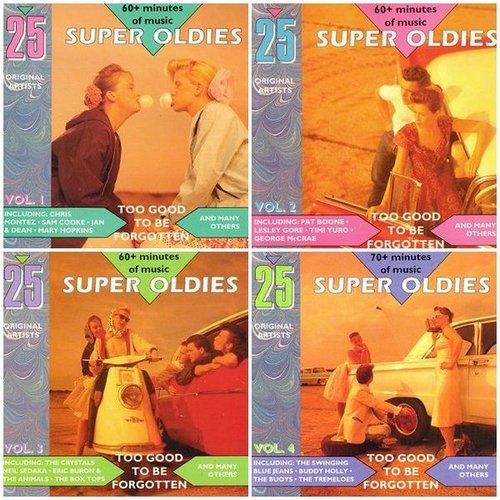 VA - 100 Super Oldies: Too Good To Be Forgotten (4CD) (1990)