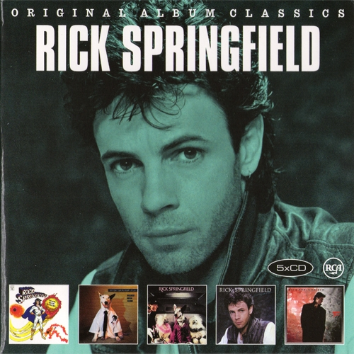 Rick Springfield - Original Album Classics (2014)