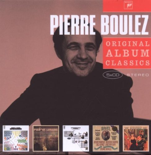 Pierre Boulez - Original Album Classics (2009)