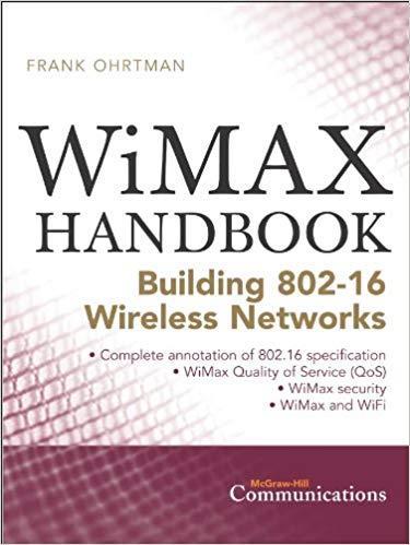 Wimax Handbook Building 802.16 Wireless Networks Pdf