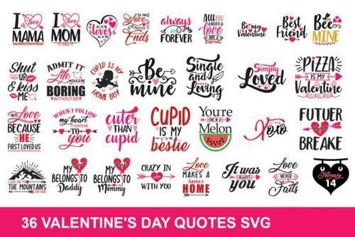 Valentine Svg Bundle 895018.
