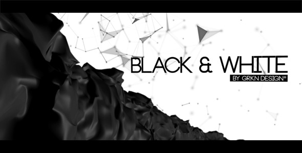 Videohive Black & White - Cinematic Titles.
